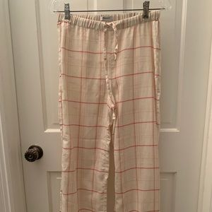Madewell plaid pj set